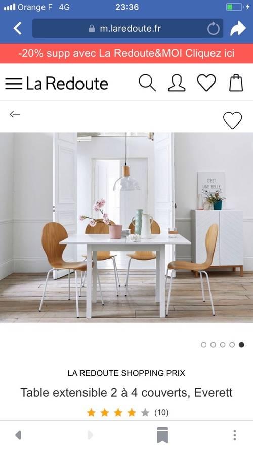 Table à manger / bureau extensible