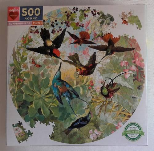 Superbe puzzle Oiseaux 500pièces