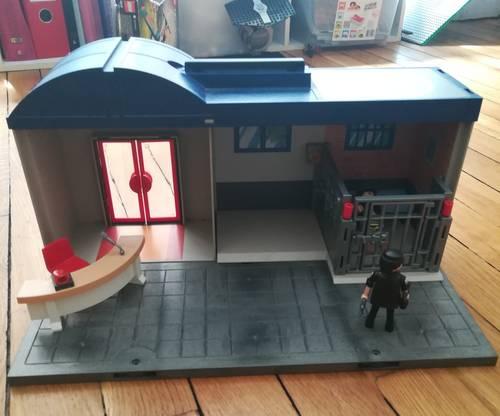 Commissariat police Playmobil