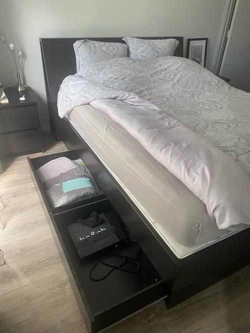 Cadre lit IKEA
