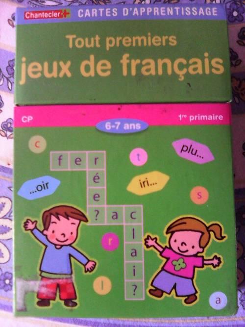 Vends Tout Premiers Jeux De Français - 6-7Ans