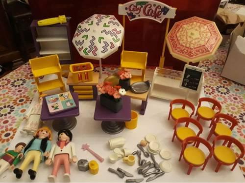 Vends jeu City cafe Playmobil