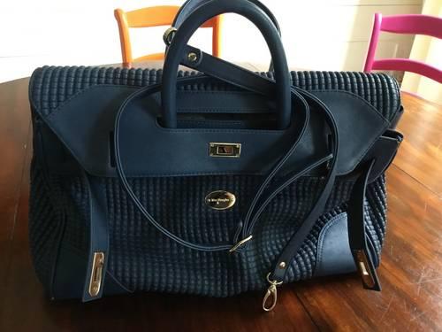 Vends grand sac Mac Douglas, modèle Pyla bleu