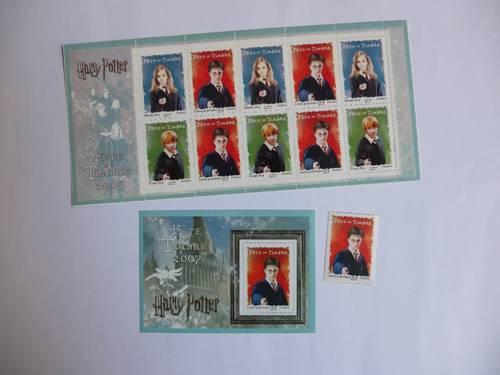 Timbres de collection: Fête du Timbre 2007– Harry Potter