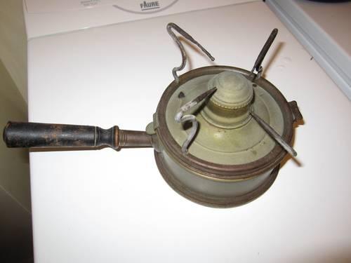 Réchaud à huile XIXème