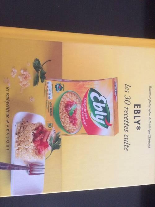 Donne petit livre de recettes Ebly
