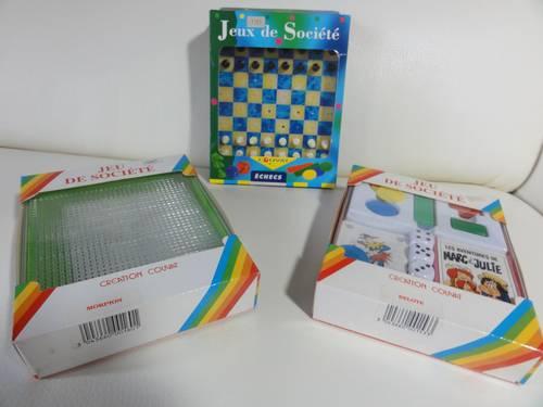 Vends jeux de cartes et de société pour enfants