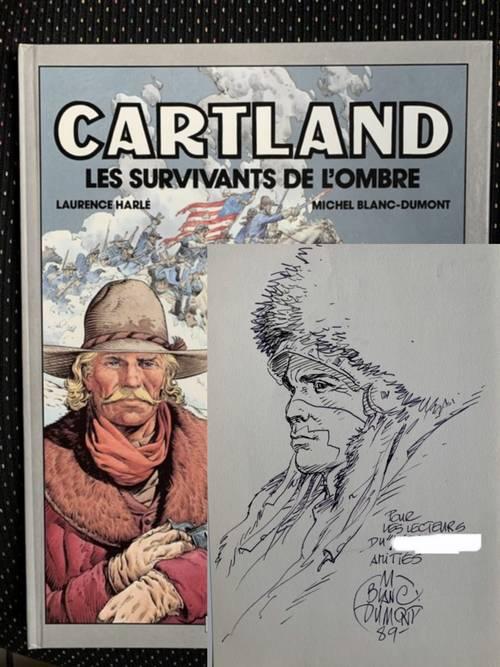 BD: dessin original, album dédicacé et ex-libris numéroté