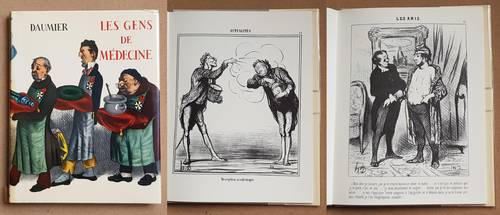 Livre caricature gens de médecine daumier