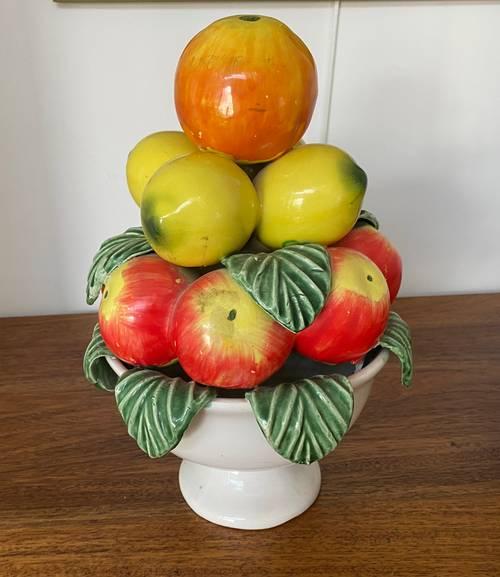 Vends coupe de fruits en céramique