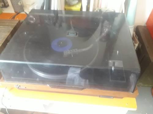 Platine vinyle vintage Sansui