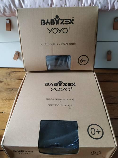 Vends pack nouveau né babyzen yoyo - jamais servi
