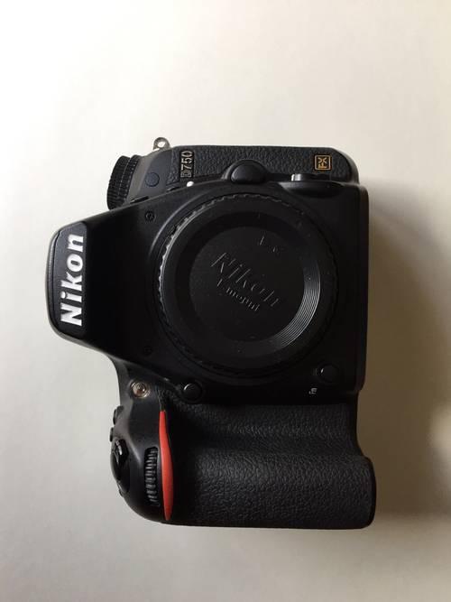 Nikon D750+ Batterie Grip