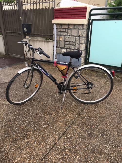 Vélo adulte avec porte vélo pour la voiture