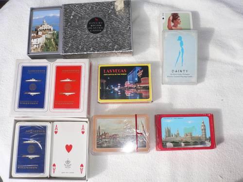 Jeux de cartes vintage