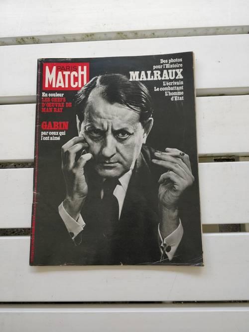 Vends Match spécial décès Malraux