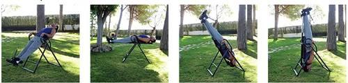 Table d'inversion (étirements, détente, relaxation, circulation…)