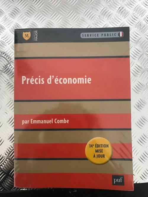 """Livre """"Précis d'économie"""" par Emmanuel Combes"""