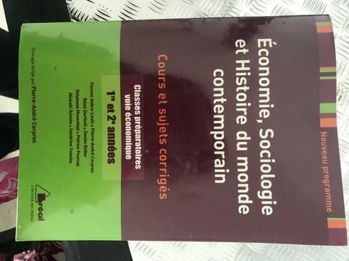 Livre d'Economie Sociologie et Histoire du monde contemporain, Corpron