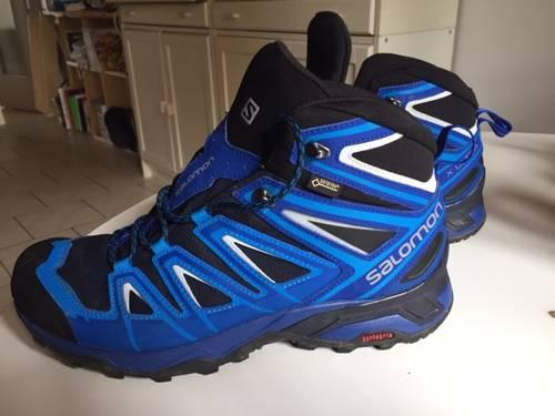 Chaussures Salomon taille 44Goretex randonnée trail