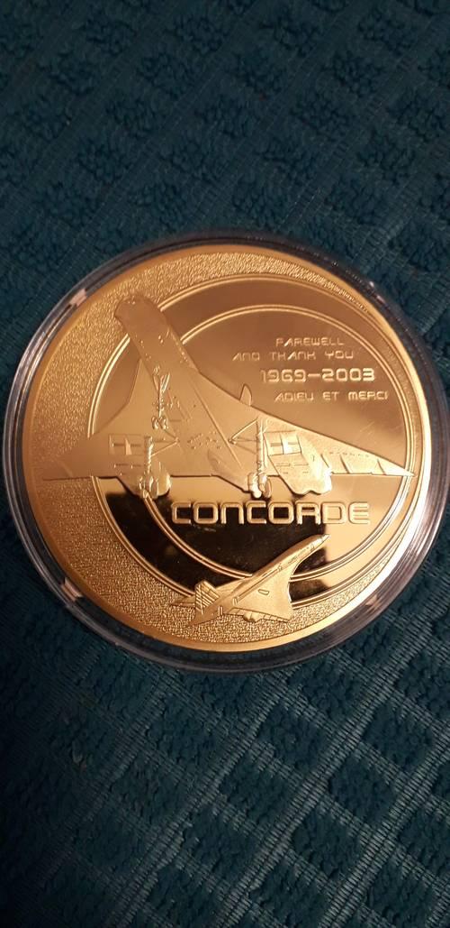 Pièce éditée du Concorde