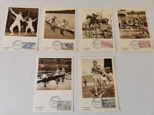 Vends série de timbres premiers jours
