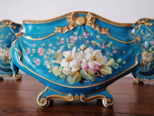 Très Bel Ensemble de Vases début XIXème siècle