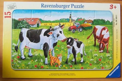 Puzzle 15pièces - Ravensburger (très bon état)