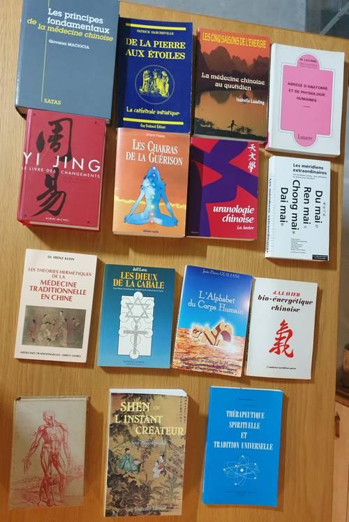 Livres de médecine chinoise