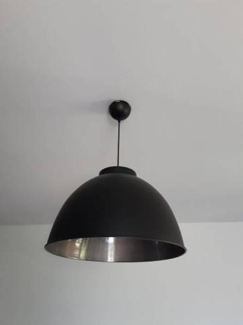 Luminaire noir/argent