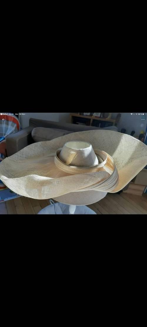Chapeau de cérémonie Mademoiselle Chapeau