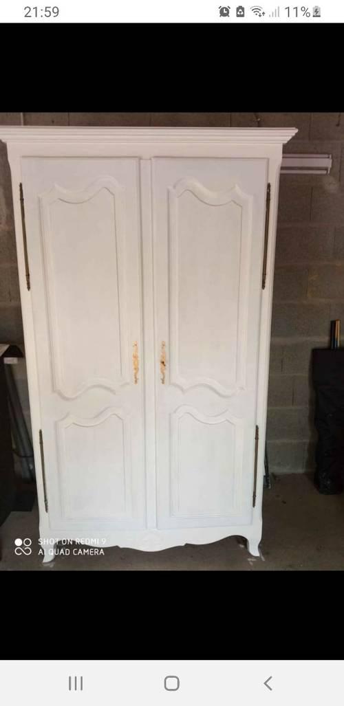 Vends magnifique armoire en chêne