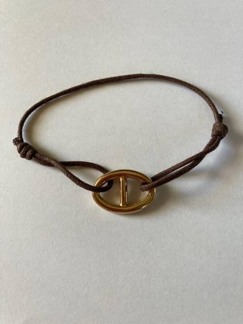 Bracelet plaqué or neuf