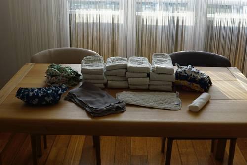 Lot de couches lavables Bambino Mio - De la naissance à la propreté