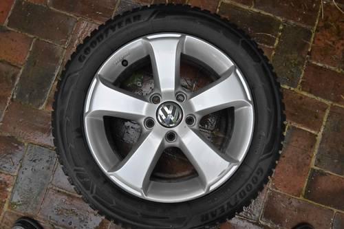 Quatre roues hiver complètes VW Touran 205/55r16