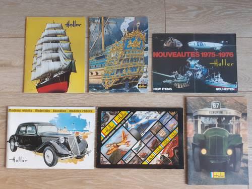 Catalogues maquettes Heller
