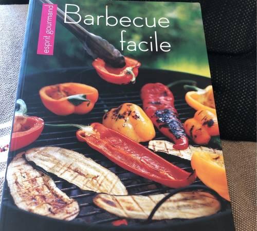 Vends livre de recettes barbecue facile