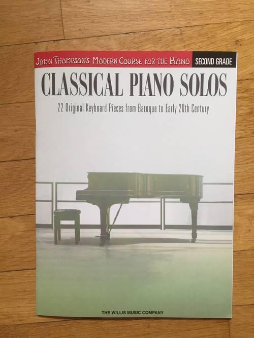 Livre neuf de piano classical piano solos