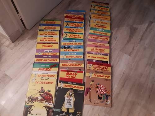 Collection 35albums de Lucky Luke