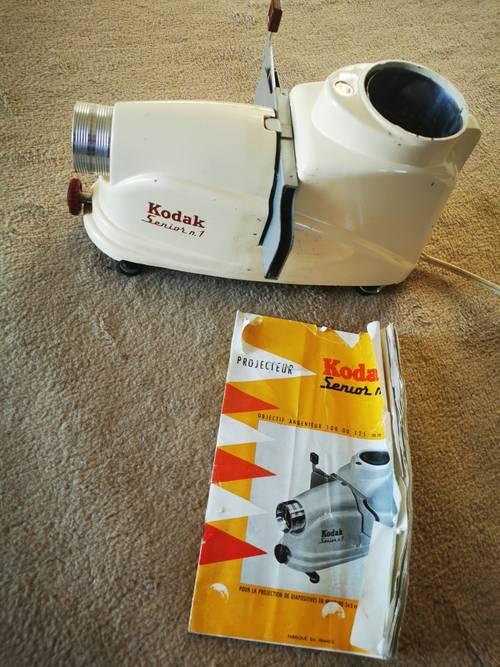 Projecteur Kodak senior 1, vintage en état de marche