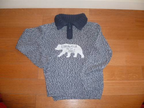Pull chiné - Taille 9ans