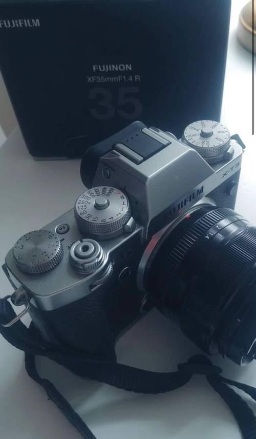 Fujifilm xt3argent+objectif 1.4