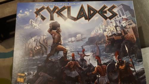 Jeu de société Cyclades