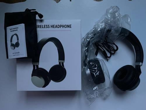 Vends casque audio bluetooth et filaire neuf