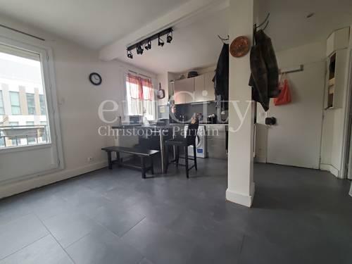 Vends appartement 3pièces traversant de 59m², étage élevé - Montrouge (92)