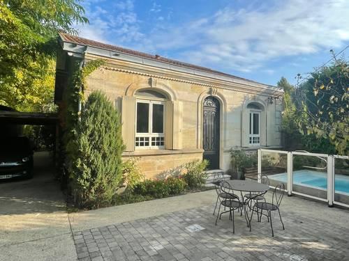 Vends belle maison pierre de plain pied - 100m² - Bordeaux