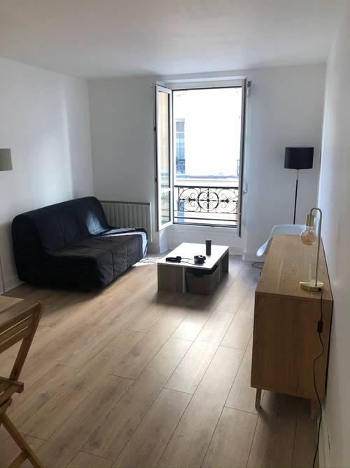 Loue Paris 16ème charmant appartement 2pièces meublé 30m²