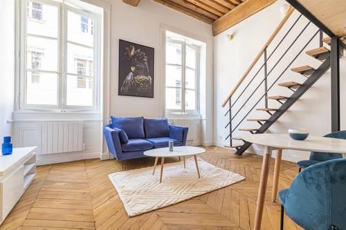 Vends appartement T236,73m² rénové avec cachet rue Royale - Lyon 1er
