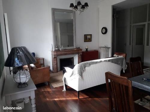 Loue Appartement centre ville meublé de standing - 3chambres, 120m², Saumur (49)