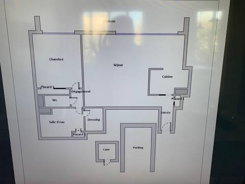 Vends appartement 2pièces - 50m² - Neuilly sur seine (92)